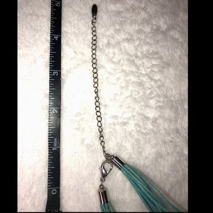 unbranded Jewelry - 💎BOGO FREE! Turquoise blue and silver necklace!💙